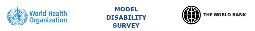 Model Disab Survey